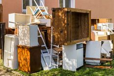 Disposal of old furniture